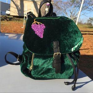 Handbags - Hand embroidered boho backpack